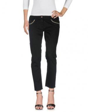 Джинсовые брюки BETTY BLUE. Цвет: черный