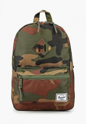 Рюкзак Herschel Supply Co Heritage Kids. Цвет: хаки