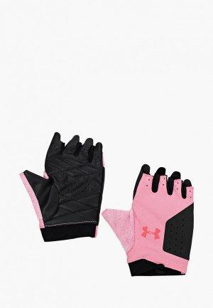 Перчатки для фитнеса Under Armour UA Womens Training Glove. Цвет: разноцветный