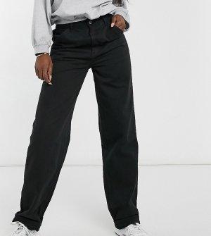 Черные свободные чиносы ASOS DESIGN Tall-Черный цвет Tall