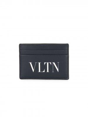 Картхолдер с логотипом VLTN Valentino Garavani. Цвет: черный