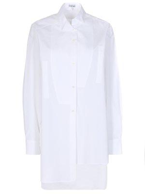 Длинная рубашка из хлопка LOEWE