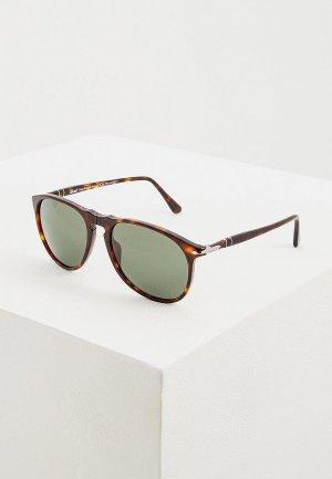 Очки солнцезащитные Persol PO6649SM 24/58. Цвет: коричневый