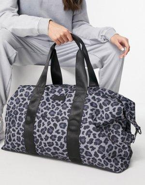 Спортивная сумка со звериным принтом -Многоцветный Consigned