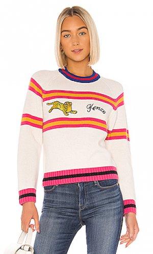 Пуловер Kenzo. Цвет: белый