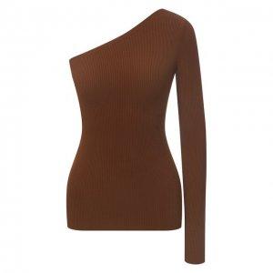 Пуловер из вискозы Polo Ralph Lauren. Цвет: коричневый
