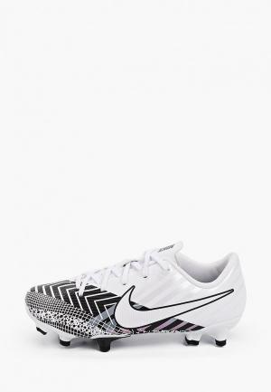 Бутсы Nike JR VAPOR 13 ACADEMY MDS FG/MG. Цвет: белый