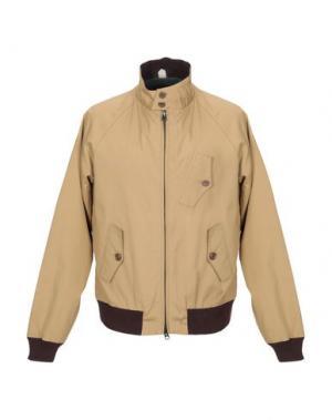 Куртка BARACUTA. Цвет: верблюжий