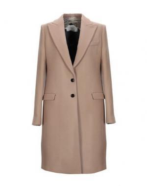Пальто AQUILANO-RIMONDI. Цвет: верблюжий