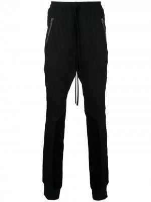 Спортивные штаны Plisse Ex Infinitas. Цвет: черный
