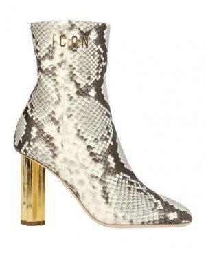 Полусапоги и высокие ботинки DSQUARED2. Цвет: светло-серый