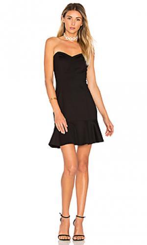Платье rocky Amanda Uprichard. Цвет: черный