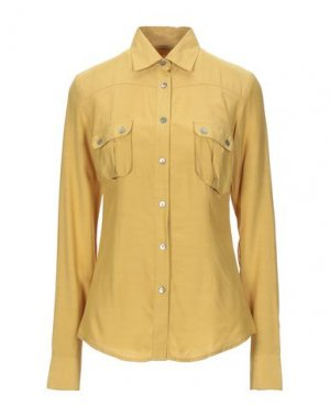 Pубашка NOVEMB3R. Цвет: охра