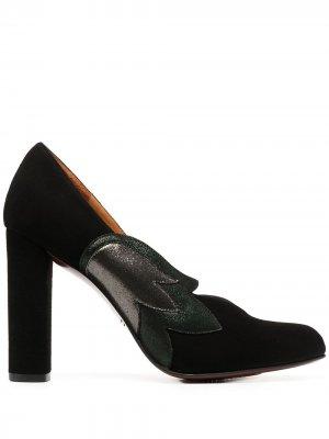 Туфли-лодочки Goneta со вставками сбоку Chie Mihara. Цвет: черный