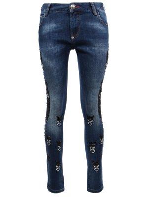 Зауженные джинсы PHILIPP PLEIN