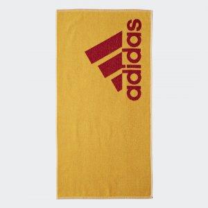 Полотенце Small Performance adidas. Цвет: золотой