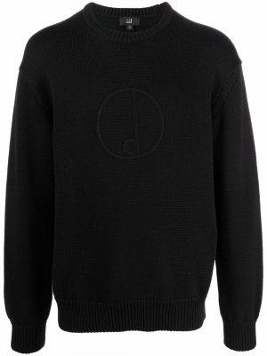 Джемпер с вышитым логотипом Dunhill. Цвет: черный
