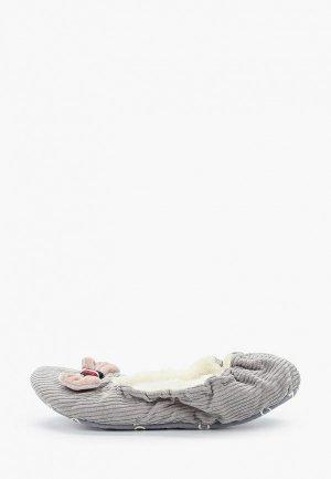 Тапочки Tommy Hilfiger. Цвет: серый