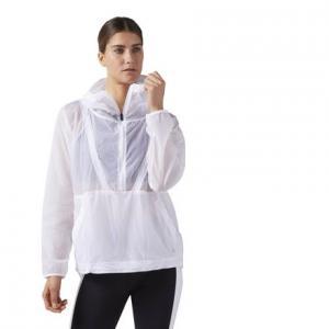 Ветровка Packable Hooded Reebok. Цвет: white