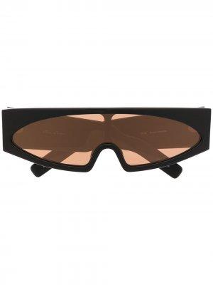 Солнцезащитные очки Rick Owens. Цвет: черный