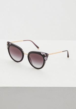 Очки солнцезащитные Dolce&Gabbana DG4340 501/8G. Цвет: черный