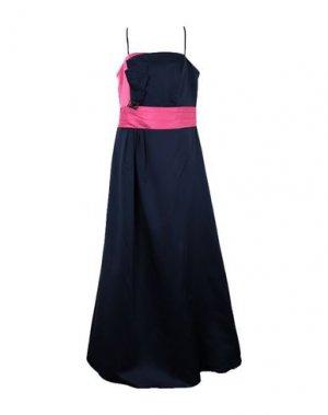 Длинное платье CARLO PIGNATELLI. Цвет: фуксия