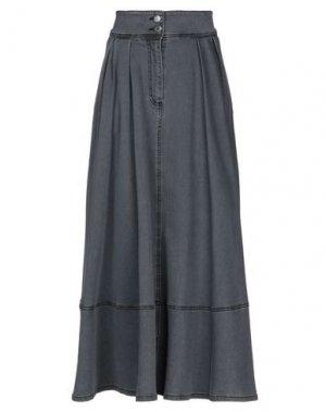 Джинсовая юбка ANNARITA N TWENTY 4H. Цвет: серый