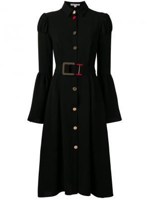 Платье Frank Edeline Lee. Цвет: черный