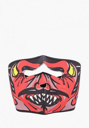 Балаклава Красная Жара. Цвет: разноцветный