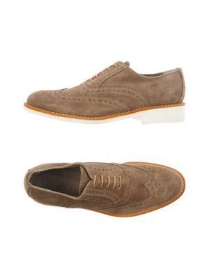 Обувь на шнурках CAMPANILE. Цвет: хаки