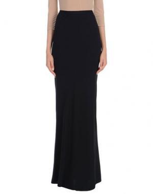 Длинная юбка GARETH PUGH. Цвет: черный