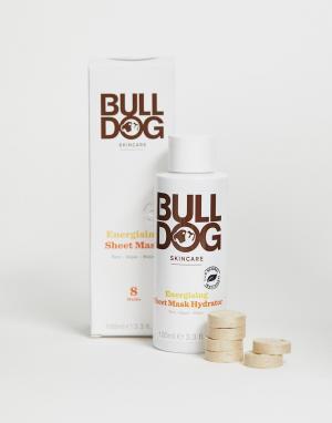 Набор из 8 тонизирующих бамбуковых масок-салфеток -Бесцветный Bulldog
