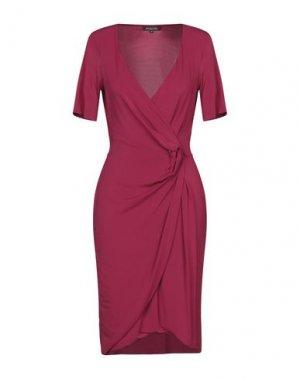 Платье до колена ANTONIO FUSCO. Цвет: пурпурный