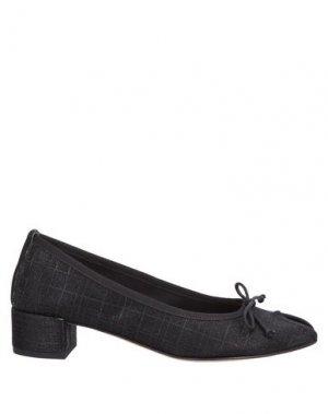 Туфли BALLERINA. Цвет: черный