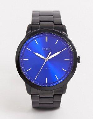 Черные наручные часы в минималистском стиле FS5693-Черный Fossil