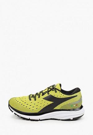Кроссовки Diadora T1 M - Run High Perf. Цвет: зеленый