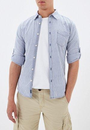 Рубашка Alcott. Цвет: синий