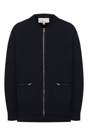 Куртка 3.1 Phillip Lim. Цвет: синий