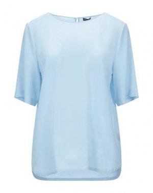 Блузка IRIS VON ARNIM. Цвет: небесно-голубой