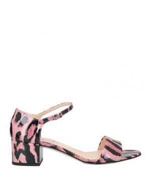 Сандалии AGL. Цвет: розовый