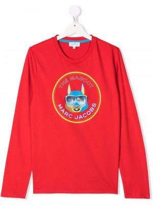 TEEN mascot-print T-shirt The Marc Jacobs Kids. Цвет: красный