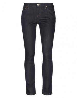Джинсовые брюки CUSTO BARCELONA. Цвет: синий