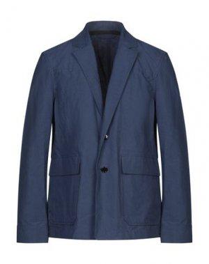 Пиджак ACNE STUDIOS. Цвет: синий