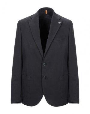 Пиджак GABARDINE. Цвет: черный
