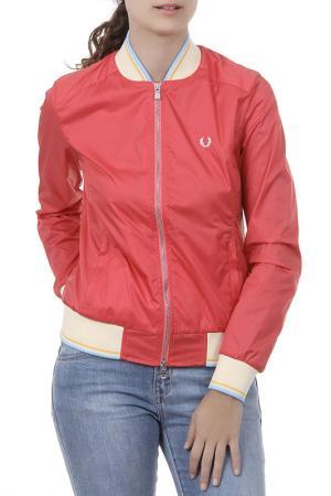 Куртка Fred Perry. Цвет: красный