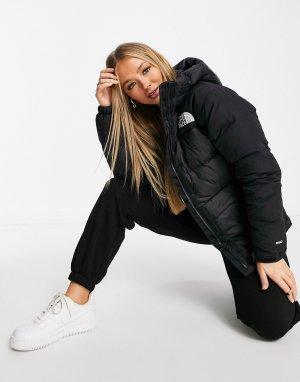 Черный куртка-парка Himalayan The North Face
