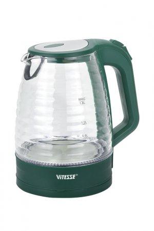Чайник электрический 1,8л Vitesse. Цвет: зеленый