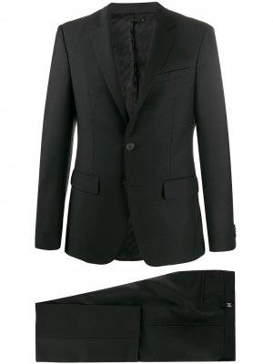 Строгий костюм с однобортным пиджаком Givenchy. Цвет: черный