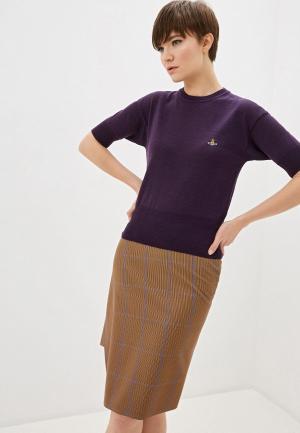 Джемпер Vivienne Westwood. Цвет: фиолетовый
