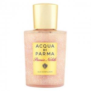Мерцающее масло для тела Peonia Nobile Acqua di Parma. Цвет: бесцветный